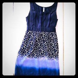 Anthropologie Maeve Silk Dress